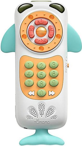 Tumama Baby Toy Mobile Phone Baby Multi-Function Remote Control Puzzle Early Ed…