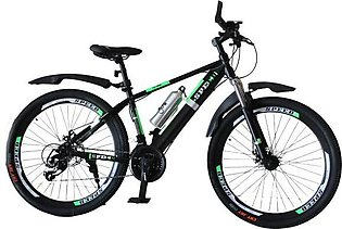 NEW 2020 Speed Multi Gear Sports Bicycle Cycle For Boys - Black and Green