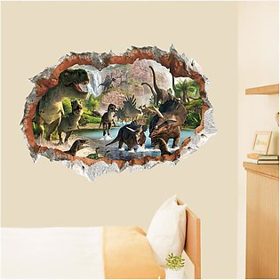 【Special Offer】PVC Dinosaur Wall Stickers Vinyl Decal Home Room Decor Art Mural…