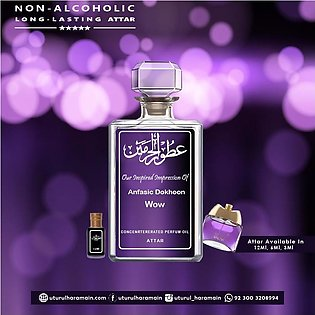 Anfasic Dokhoon Wow - ATTAR (Roll On Perfume Oil) - ( Long Lasting Concentrated…