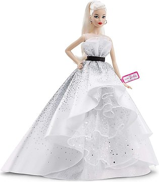 BARBIE 60TH ANNIVERSARY DOLL (FXD88)