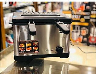 Commercial Stainless Steel Single Tank Electric Deep Fryer