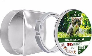 Pet Cat Natural Essential o il Anti Flea Ticks Lices Mosquitoes Collars-gray