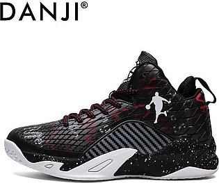 Autumn and winter men's high quality wear-resistant basketball shoes