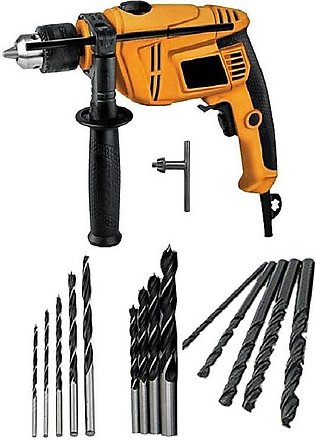 Pack Of 15 Hd Drill Machine And 15 Pcs Drill Bit