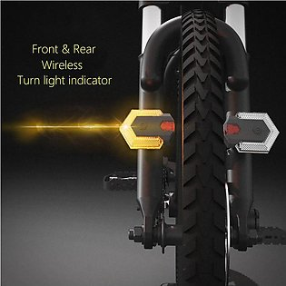 Bike Turn Signals with Smart Wireless Remote Control Bike Tail Lights Front and…