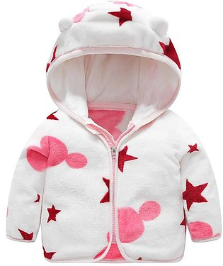 Baby Gril Boy Fashione Thick Hooded Clothes