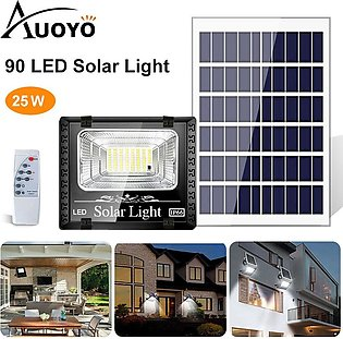 Auoyo 45W/60W LED Solar Light Waterproof Outdoor Wall Lights PIR Motion Sensor …