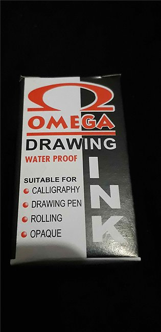 Omega Calligraphy & Drawing Ink (Black) 20ml