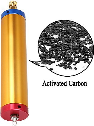 Metal Activated Carbon Filter for Pneumatic Gas Cylinder Diving Breathing Pump