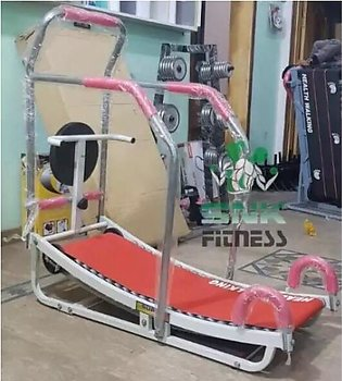 Manual Tredmill Machine with Rollers and Twister Disc