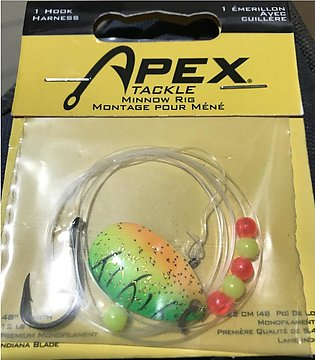 """Tackle Minnow Rig 48"""" for freshwater fishing"""
