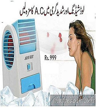 Mini Air Conditioner Shaped Cooler Fan And Fragrance
