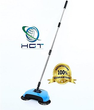 Super Easy Hand Push Broom Blue (S)