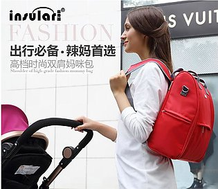 Mummy backpack baby diaper bag