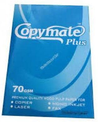 Copy mate Plus 70 GSM A4 Size Paper - Box of 5 Reams - Ghosia Stationery LT # 1…