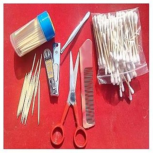 Personal Care Family Pack  ( 1 Nail Cutter, 1 Scissors , 1 Round pocket Mirror,…