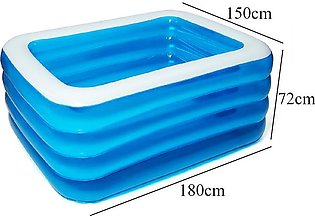 180x150x72cm Family Backyard Inflatable Kiddie Swimming Pool Ball Water Par Out…