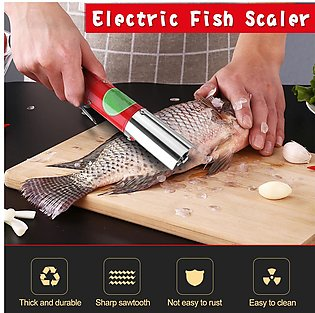 Kitchen Helper Fish Scale Scraper Easy Fish Stripper Scale Remover Cleaning Tool