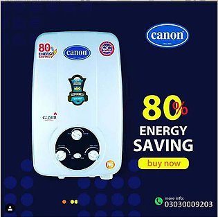 CANON Instant Gas Water Heater Geyser 8 ltrs NG/LPG supported ( Official Canon )