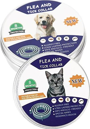 Bellylady Pet Dog Cat Collar Anti Flea Ticks Mosquitoes Insect Repelling Collar