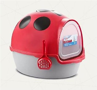 lady bug Cat Litter box large size