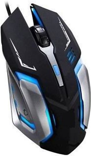 GAMING OPTICAL MOUSE 7 COLOUR LED USB Wired Pro Gaming Mouse For PC (Computer &…