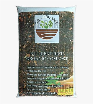 Organic Compost and Multipurpose Fertilizer for Plants, Lawn and Garden (2 KG B…