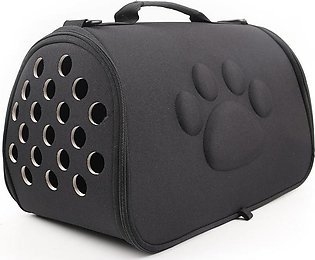 Dogs Cat Folding Pet Carrier Cage Collapsible Puppy Crate Handbag Carrying Bags…