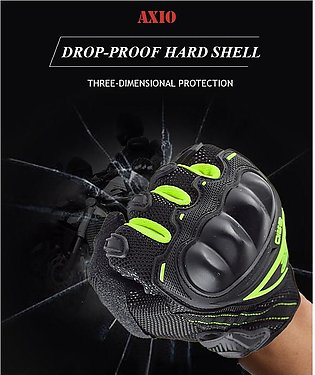 Metal Protector Anti-drop Wear Racing Motorcycle Gloves