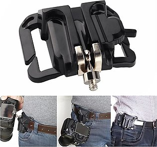 Quick Strap Waist Belt Buckle Button Mount Clip DSLR Camera Video Bags For Sony…