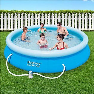 Bestway 57274 Inflatable Polyvinyl Chloride (PVC) Swimming Pool - 366 x 76 cm