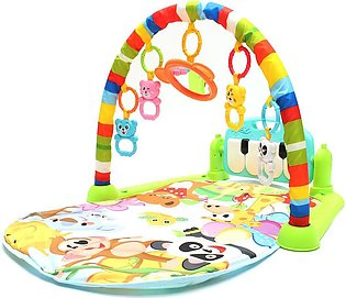 3 In 1 Baby Kid Lullaby Playmat Musical Piano Activity Soft Fitness Sleeping Mat