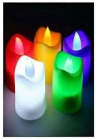 Pack of 5 Led Bulb Lighting Candles, Candle Lamps, Beautiful Candle Lamps, Cand…