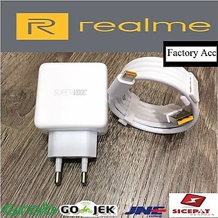 Original Super VOOC Charger For Realme_ 5 Pro X XT X2 Pro Super VOOC 5A  OPPO 5…