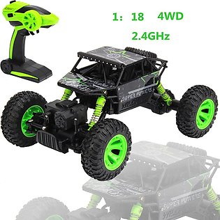 ?NEW~HB P1803 2.4GHz 1:18 Scale RC Rock Crawler 4WD Off-road Race Truck Car Toy