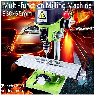 【 Flash Deal 】Multifunction Milling Machine Bench Drill Vise Fixture Adjustment…