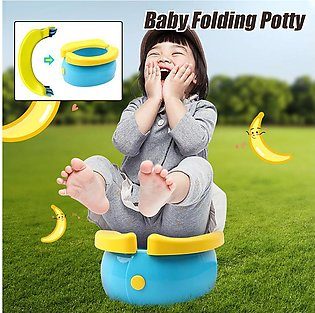 Portable Travel Foldable Baby Toilet Trainer Toddler Kid Potty Urinal Training …