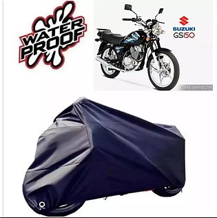 SUZUKI GS 150 Motorcycle bike Top Cover Double Coated High Quality Waterproof 7…