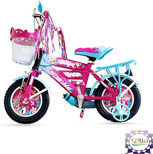 Girls Bicycle Barbiee Doll Bicycle Birthday Wish Gift for Girls, 12 Inches Girl…