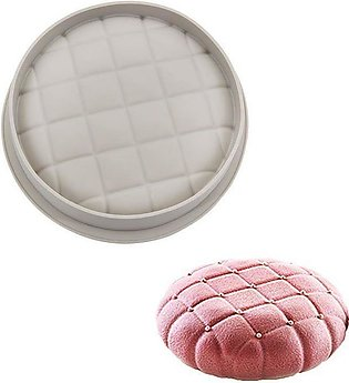 Silikolove Round Square Pillows Silicone Mousse Cake & Baking Mould