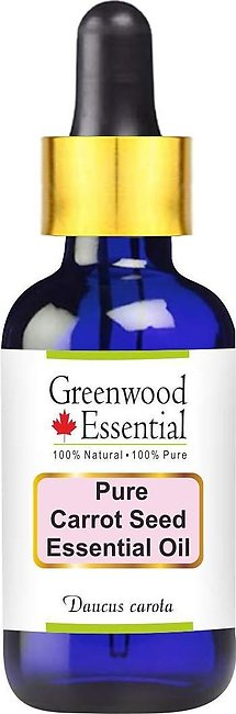 Greenwood Essential Pure Carrot Seed Essential Oil 30ml