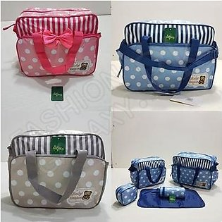 5 Pieces Pack of Baby Diaper Bag