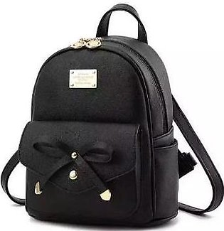 Imported Stylish Fancy PU leather bag backpack for girl