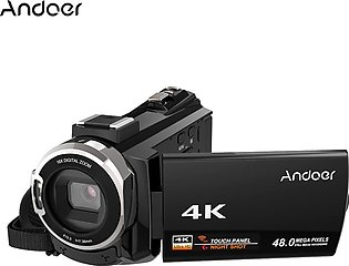 Andoer 4K 1080P 48MP WI-FI Digital Video Camera Camcorder Recorder