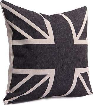 【Special Offer】Cotten Linen Union Jack Printed Flag Throw Pillow Case Cushion C…