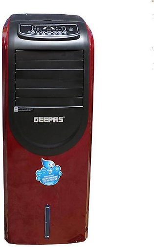 Geepas G A C373 - Big Size Air Cooler with Remote & LED Screen Control - Red & …