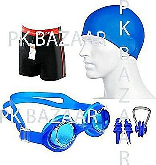 Swimming Accessories Swimming Goggles, Nose Kit, Ear Kit, Swimming Shorts, Swim…