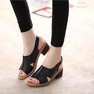 Korean Style Women Sandals Lady Shoes Fashion Women Summer Skid-proof Thick Pee…