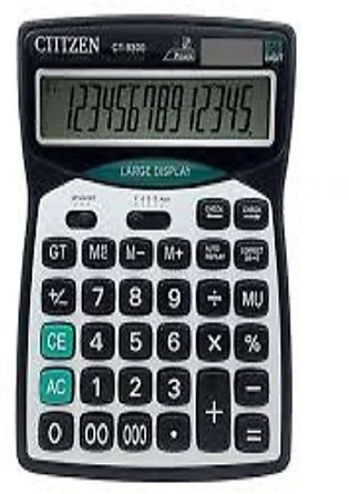 Citizen CT-9300 Desktop Calculator Solar Dual Power Calculator 14-digits Large …